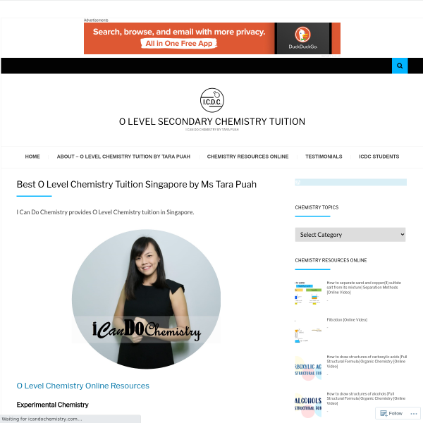 Read more about: Best O Level Chemistry Tuition in Singapore