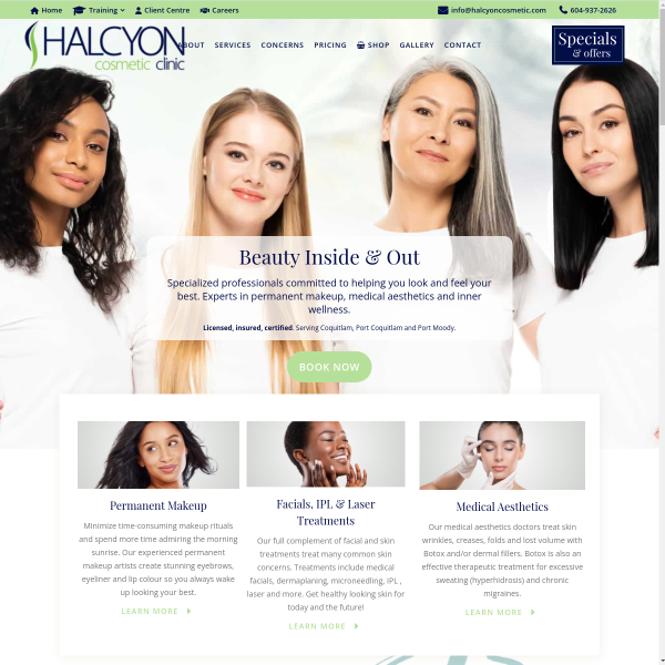 Read more about: Halcyon Cosmetic