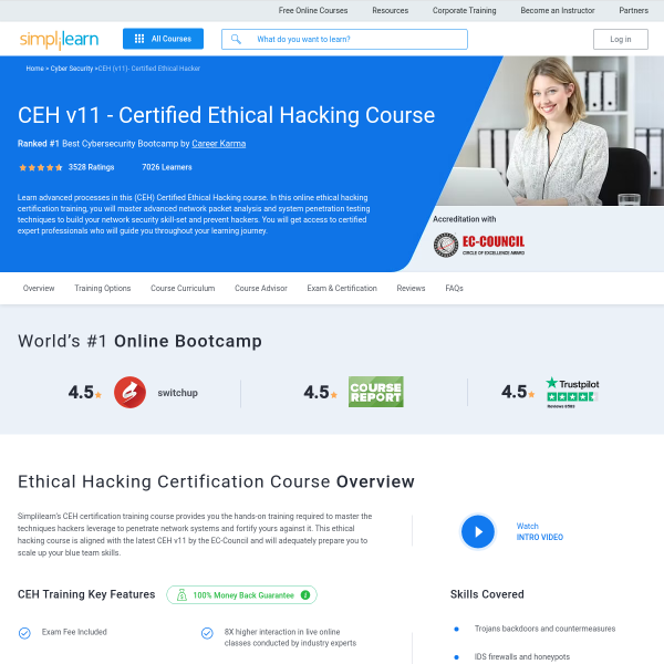 Read more about: Ethical Hacking Course
