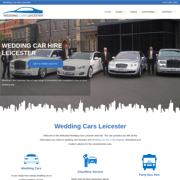 Read more about: Wedding Car hire Leicester