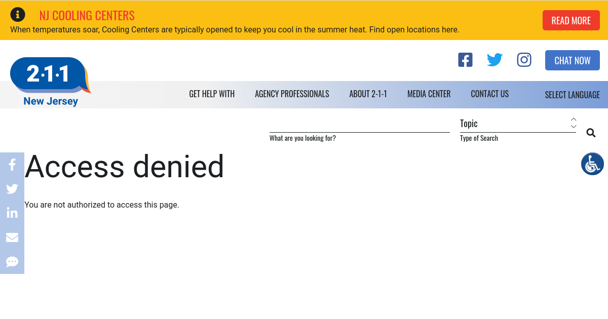 holiday assistance programs nj 2 1 1