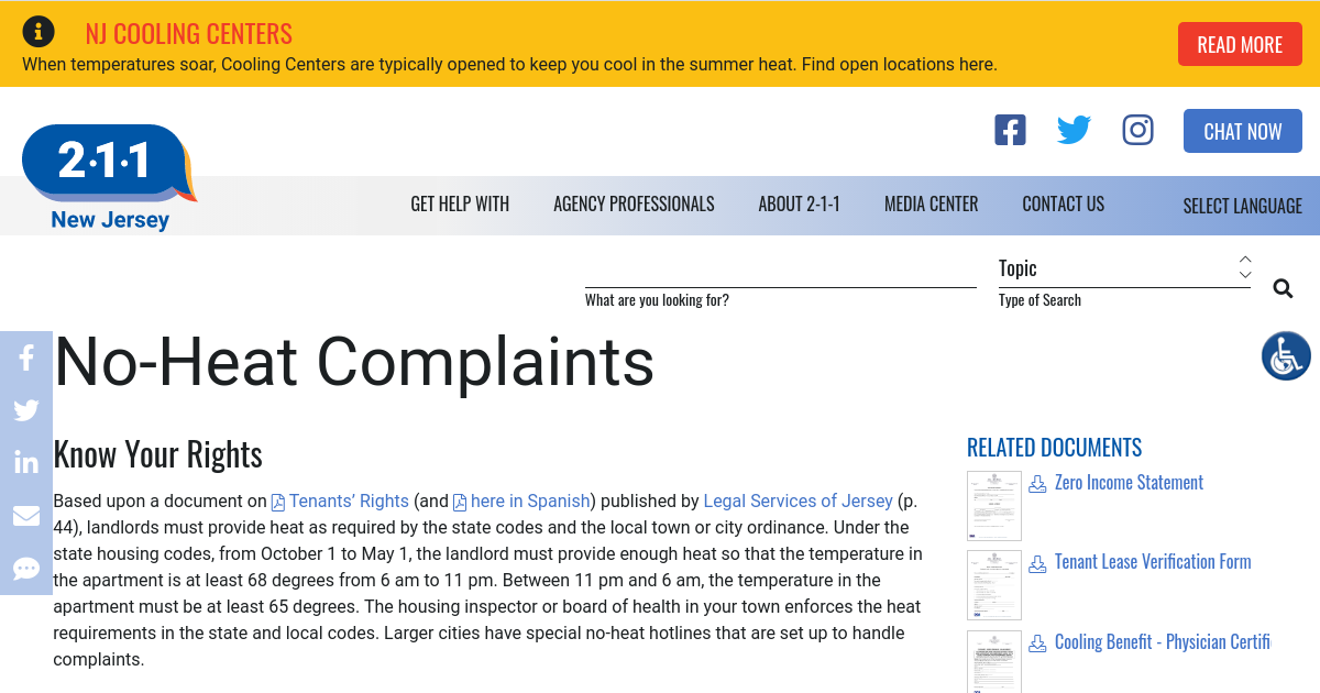legal requirements for dealing with complaints