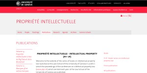 Book Series on Intellecutal Property