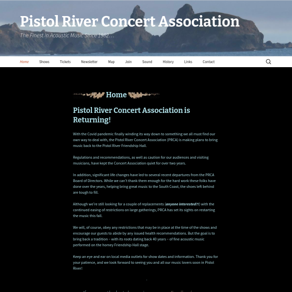 Pistol River Concert Association