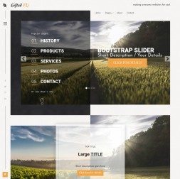 Gifted Agriculture Dreamweaver Template