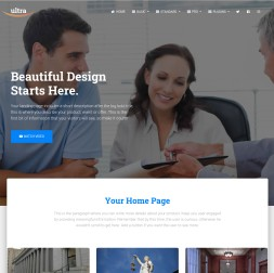 Ultra Law Website Template