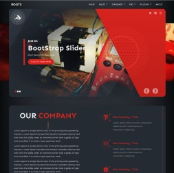 Roots Electrical Dreamweaver Template