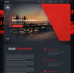Roots Travel Web Template
