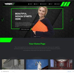 Hex Law Web Template
