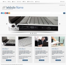 Fortis Computers Website Template