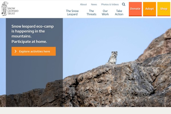 Website of Snow Leopard Trust