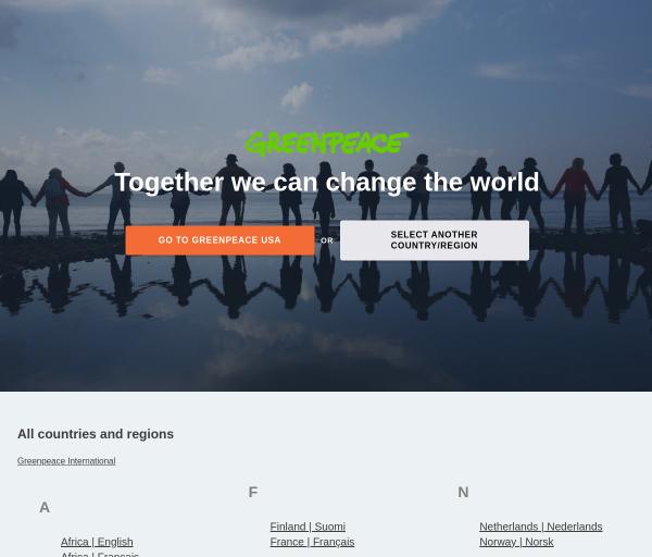 greenpeace.org SEO Raporu