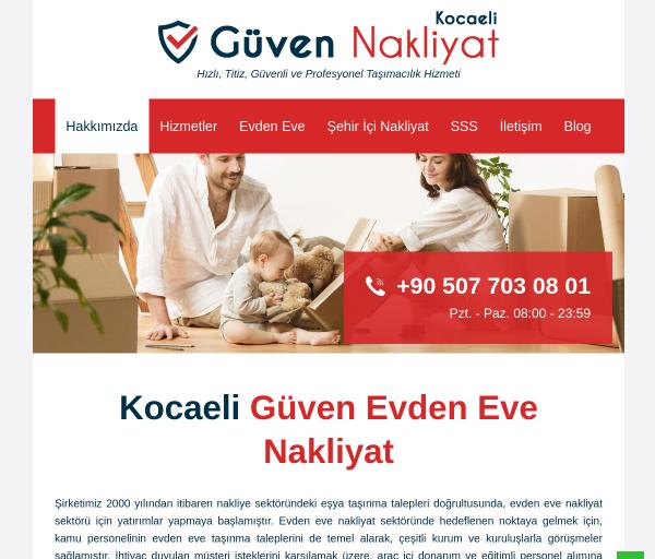 kocaeliguvennakliyat.com SEO Report