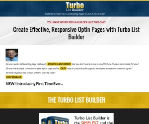 Create Effective, Responsive Optin Pages with Turbo List Builder