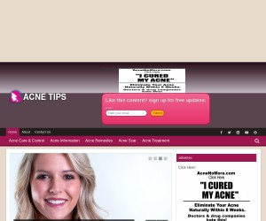 Struggling to get rid of acne?