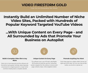 Instantly Build an Unlimited Number of Niche Video Sites