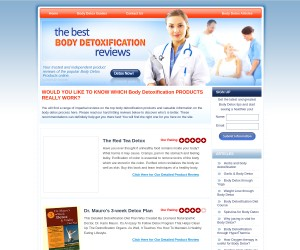 Detoxification of the body