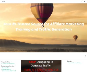Your #1 Trusted Source for Affiliate Marketing Training and Traffic Generation!