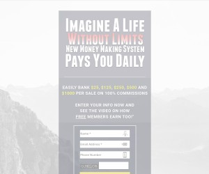Automated systems pays 100 % commissions