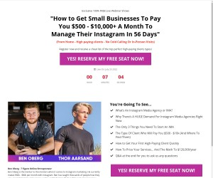How to start your own six figure Instagram business in 30 days