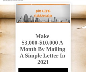 Get Paid To Walk To Your Mailbox! WHAT???