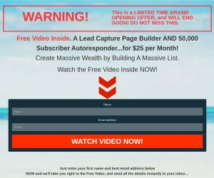 Grand Opening [Insane Value AutoResponder PLUS Page Builder]