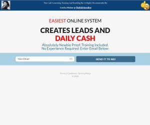 Did You Already Get Your FREE Leads System?