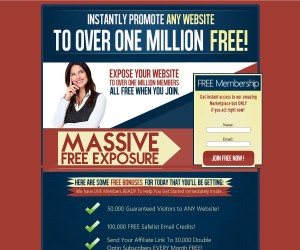 Get Your 1 MILLION VIEWS of Your Website HERE!
