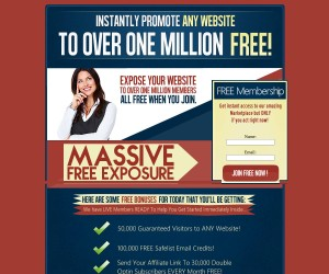 Get Your 1 MILLION VIEWS of Your Website HERE