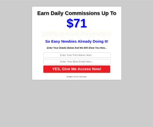 Earn daily commission up to 195$