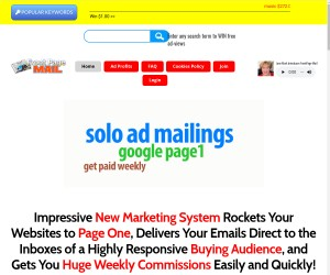 Keyword Marketing, Solo Ads, Article Promotion, Lifetime Traffic and More..