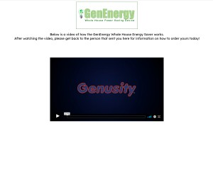 Here's how it works: Introducing…  GenENERGY Genusity's Brand-New POWER BILL savings device!