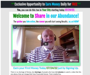Earn your First Money Today .....