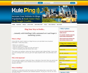 Ping Your Website or Blog