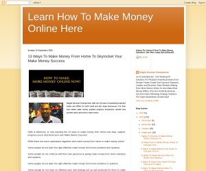13 Ways To Make Money From Home
