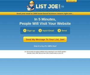 listjoe is consistently ranked in top 3 of traffic building sites