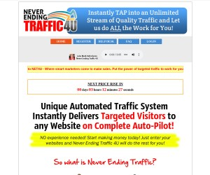 Never Ending Traffic for ANY Website Done for You..