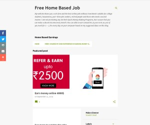 free home based job
