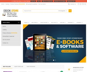 EBOOK STORE AND SOFTWARE STORE -GET ONE LIKE THIS