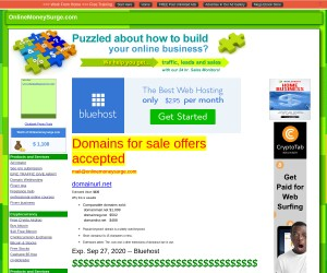 Bluehost Domains For Sale