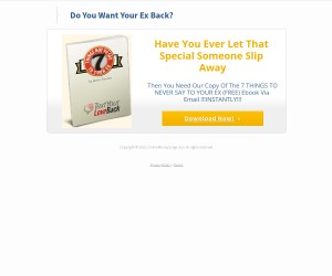 Do you want your Ex back? FREE EBOOK DOWNLOAD