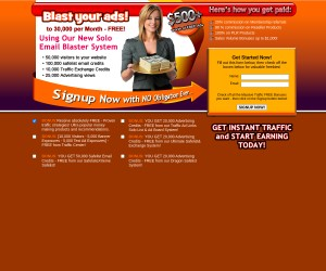 Blast Your Ads To 30,000 Per Month F-R-E-E [NEW Solo Email Blaster System]