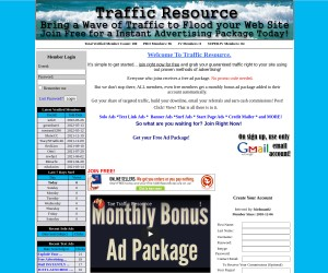 Traffic Resource Traffic Exchange
