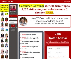 GET 1,022 visitors to your websites every 3 days for FREE.