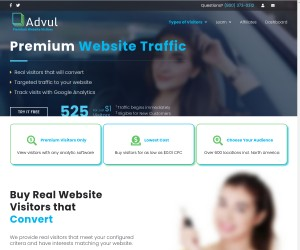 Premium Traffic/Live Traffic.Free Limited Time