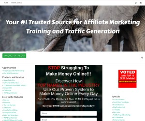 Get 100's of people to send you FREE traffic!