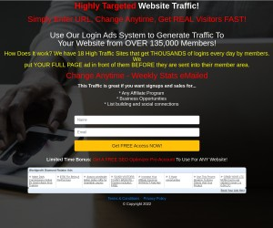 A brand new way to generate website traffic.