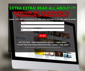 EXTRA! EXTRA!  PROMOTE & GET PAID!!