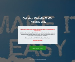 Easy Traffic Mailer Lets You Email 1,000 Free