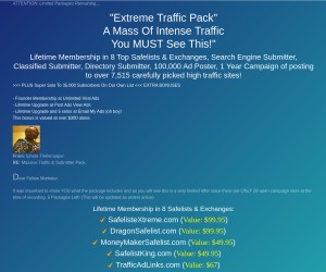 eXtreme Traffic Package